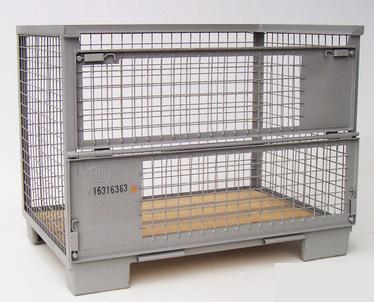 Von der poolbaren Tauschbox bis zur Sonderlösung Die DB-Europoolgitterbox (nach DIN 15155/8 und UIC ...