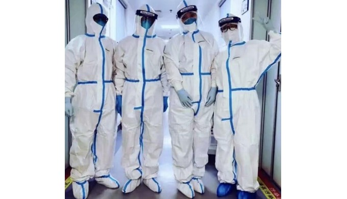 Medical Disposable Protective Coverall (FDA & AAMI PB70 Level 3)