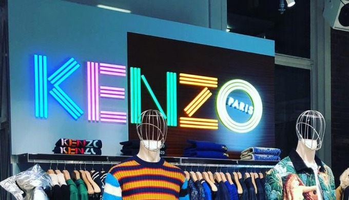 Kenzo à Londres