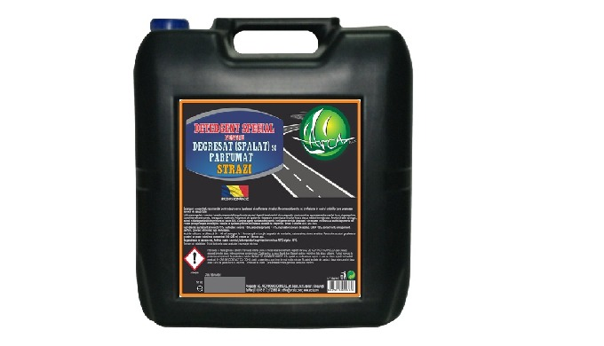 Detergent pentru degresat ( spalat) si parfumat strazi