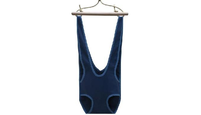 Sautoir pour bébé De 6 à 15 mois (de 5 à 11 kg), le sautoir pour bébé Zébulette couleur Navy accompa...