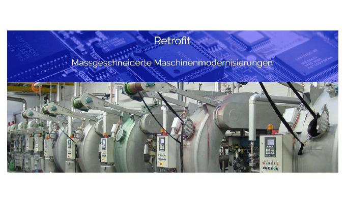 Massgeschneiderte Maschinenmodernisierungen