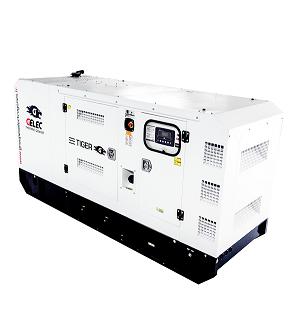 GROUPE ÉLECTROGÈNE DIESEL GELEC 83 kVA : Cette gamme TIGER est équipée d'un « automatic switch » (in...