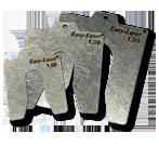 Med förstansade shims av högkvalitativt, rostfritt stål blir uppriktningen av dina maskiner säkrare ...