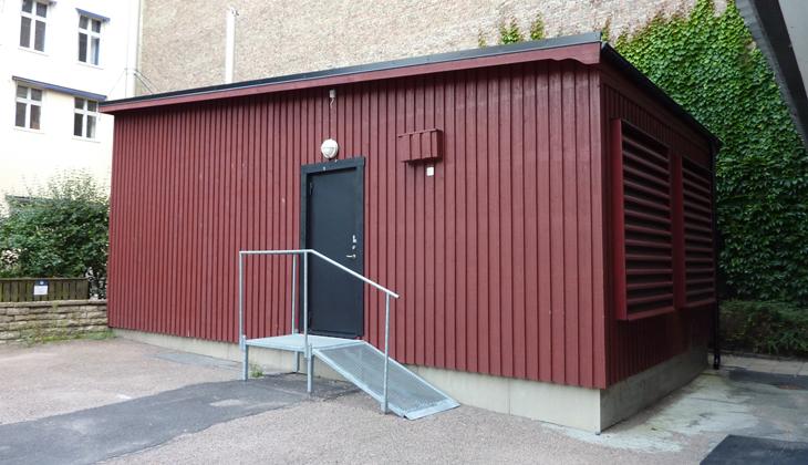 Container lösningar har blivit allt vanligare bland annat på grund av platsbrist i bef. lokaler när ...