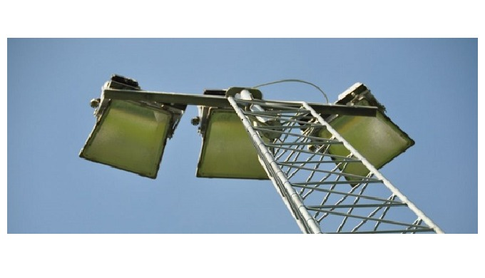 Floodlight towers