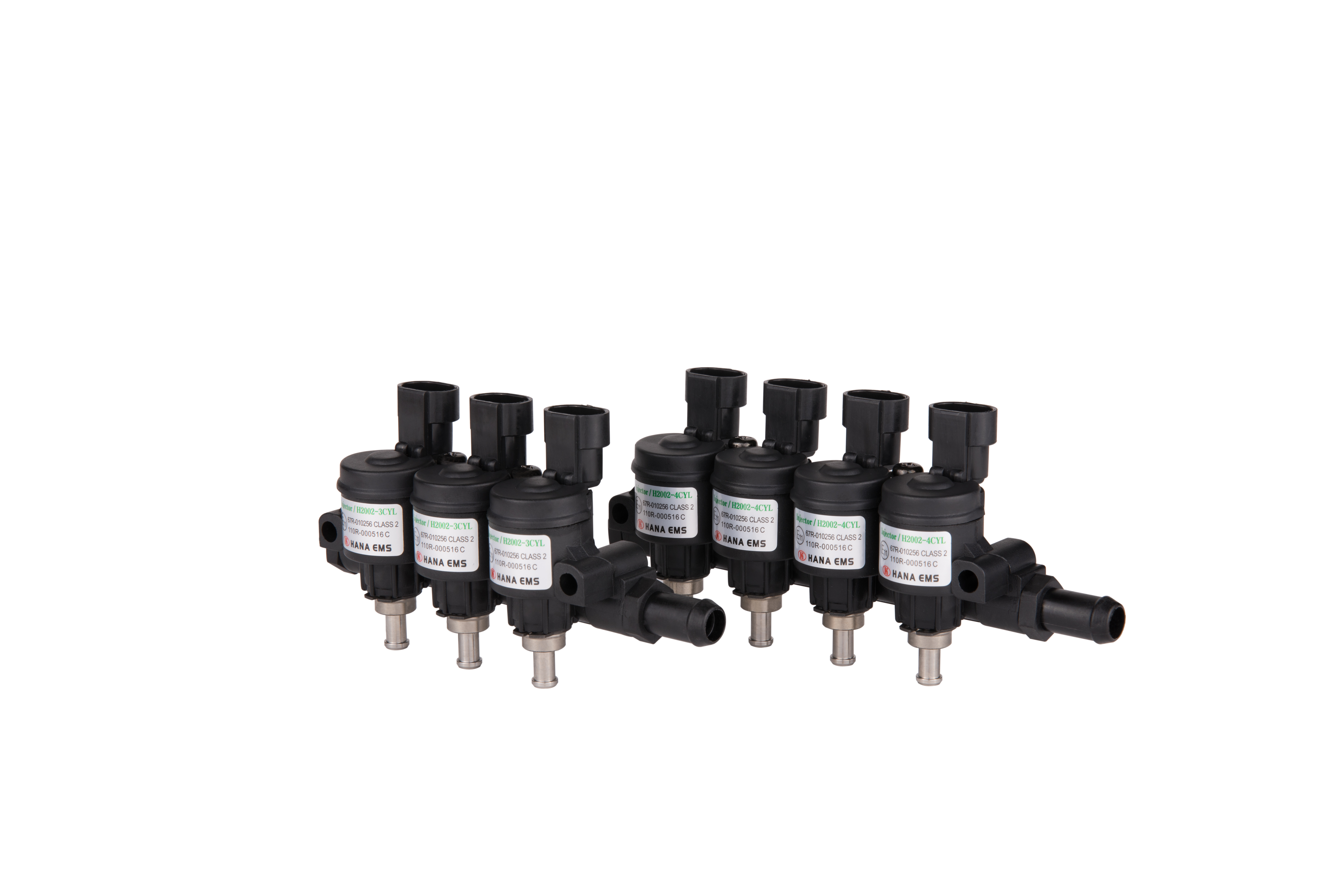 HANA H2002 is a 3 & 4 Cylinder Side Feed type injector rail. Accurate fuel injection and engine resp...