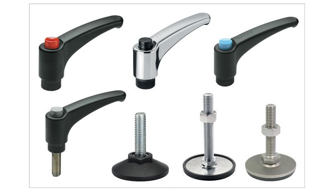 Standard Ergostyle® components from Elesa for the Office Equipment industry