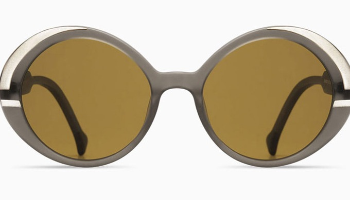 These elegant women's sunglasses are one of Nathalie Fordeyn's classic models – sunglasses with an o...