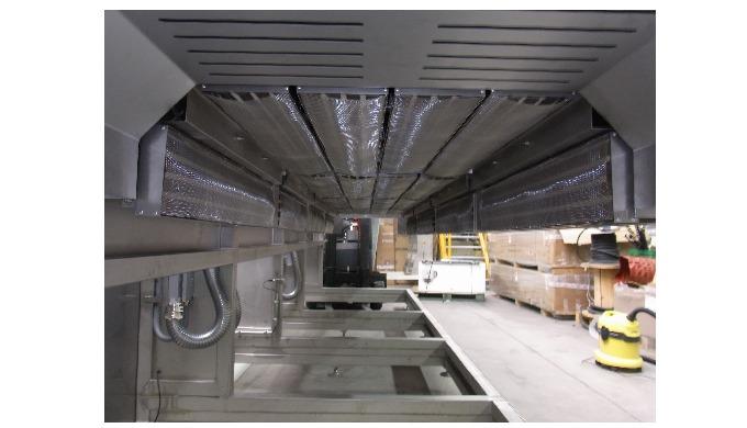 Radiant infrarouge moyen (2.6 microns) intégrant : - tiroir chauffant - Un châssis en tôle inox + po...