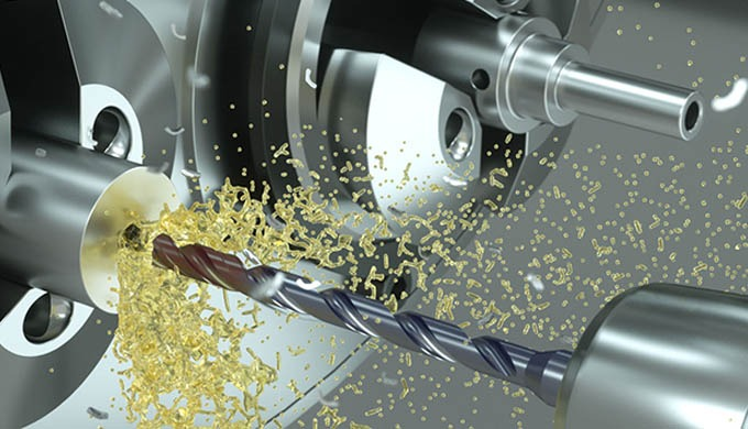 CrazyDrill Cool SST-Inox, a drill for stainless steels, heat-resistant and CrCo alloys in the diamet...