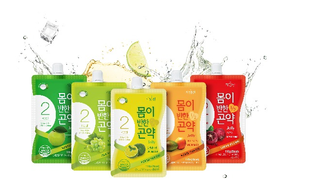 Fall in love of my body with Konjac Jelly