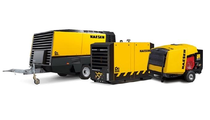 Compresoare mobile pentru constructie KAESER Eroii șantierelor – Made in Germany – puternice, cu cos...