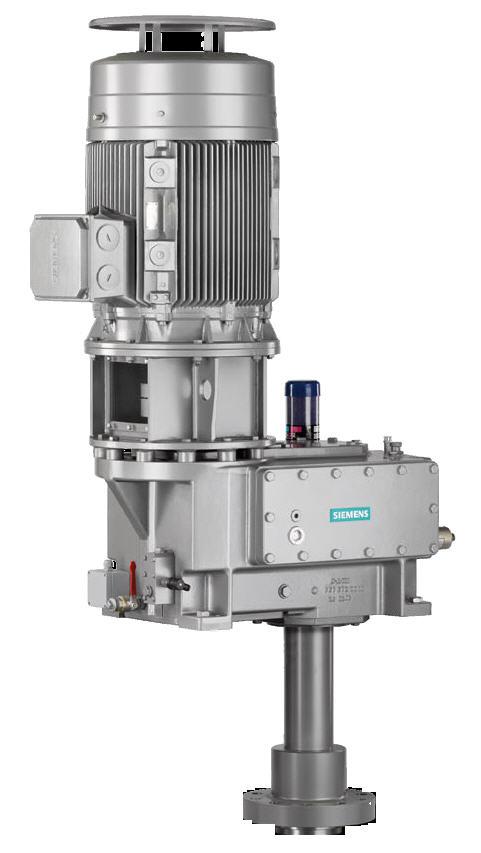 schrägverzahntes Getriebe / mit Parallelachse / für Kondensator / zweistufig