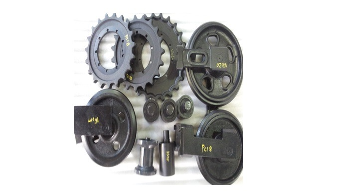 POWERTRAC can supply a wide range of mini excavator parts- track rollers , sprockets, idlers, track ...