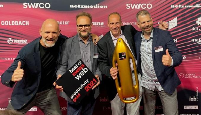 3EAO 3D Configurator chosen as Best Swiss Web Project 2021