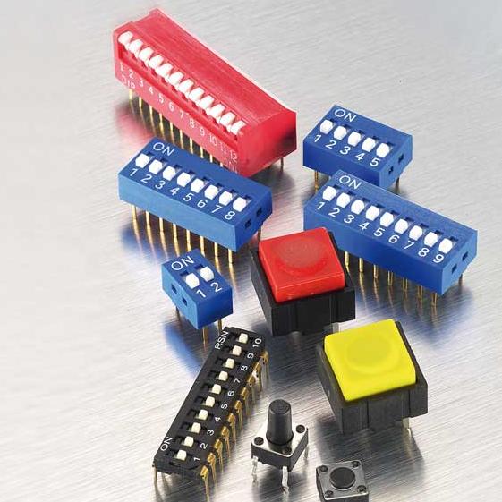 Venez découvrir notre large gamme de Dip Switch et Poussoirs pour clavier d'ordinateur, télécommande...