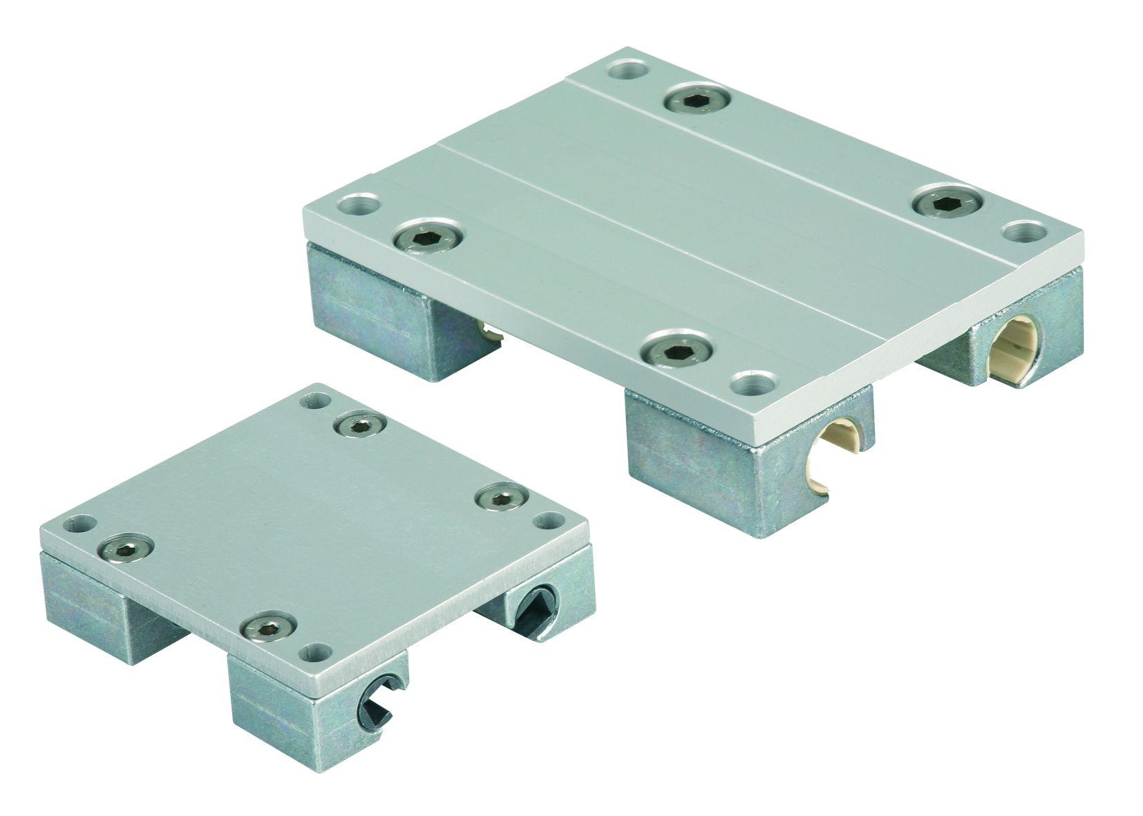 Material: Carriage die-cast zinc. Mounting plate aluminium. Bearing material iglidur® J. Version: Ca...