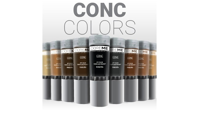DOREME Pigments for Microblaiding (CONC, 2shot)