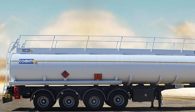 Les semi-remorques citernes hydrocarbures COMET sont conçues et réalisées conformément aux normes AD...