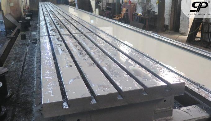 Milling steel platform for lathe