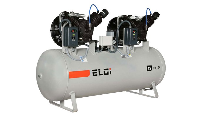 OIL LUBRICATED PISTON AIR COMPRESSORS - LD SERIES PISTON COMPRESSOR 2.2 – 7.5 KW 3-10 HP TWO – STAGE DIRECT DRIVE RECIPR