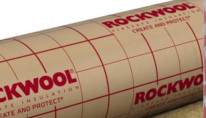 Laine de roche grillagée forte densité (80 à 120 Kg/m3)