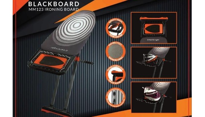 Ironing Board MM123 BLACKBOARD