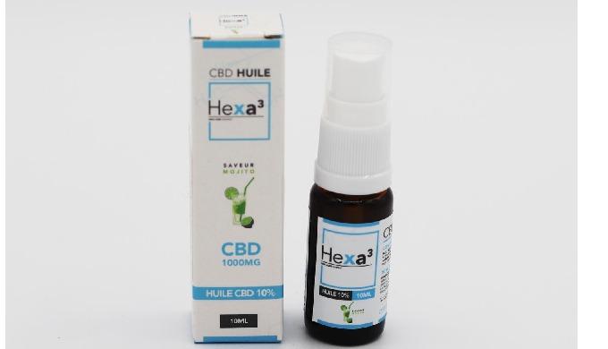huile CBD 10% avec huile MCT et arômes naturels de vanille, menthe, citron, fraise une large gamme d...