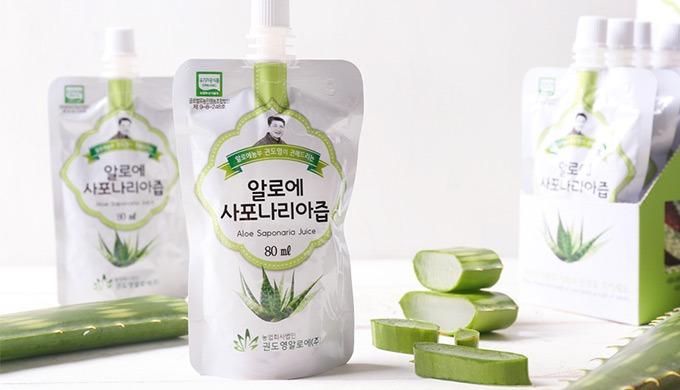 Organic Aloe saponaria Juice (by KwonDoYoung ALOE Corp.)