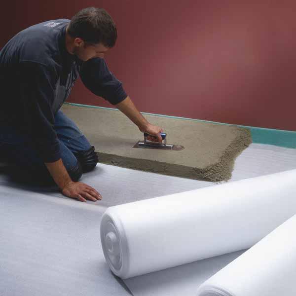 Acoustic Foam® 5-35 op rol is uitermate geschikt voor een degelijke contactgeluidsisolatie tussen dr...