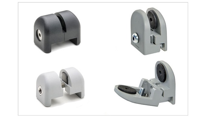 Elesa support COVID security with screen mounting clamps for shops and industrial safety
