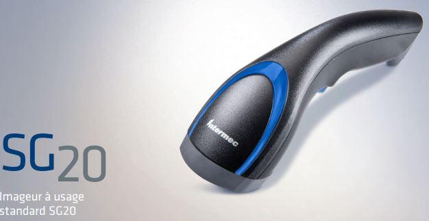 Le SG20 d'Intermec est un lecteur à main ultraperformant et abordable, disponible sous plusieurs mod...