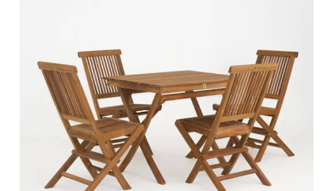 Cheshire Teak Co would like you to meet our rectangular folding table; its oblong shape easily accom...