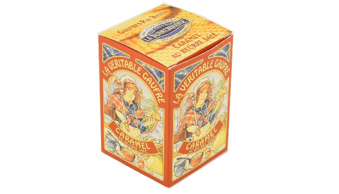 Etui Gaufres Fines - Gamme Tradition - Caramel Beurre Salé