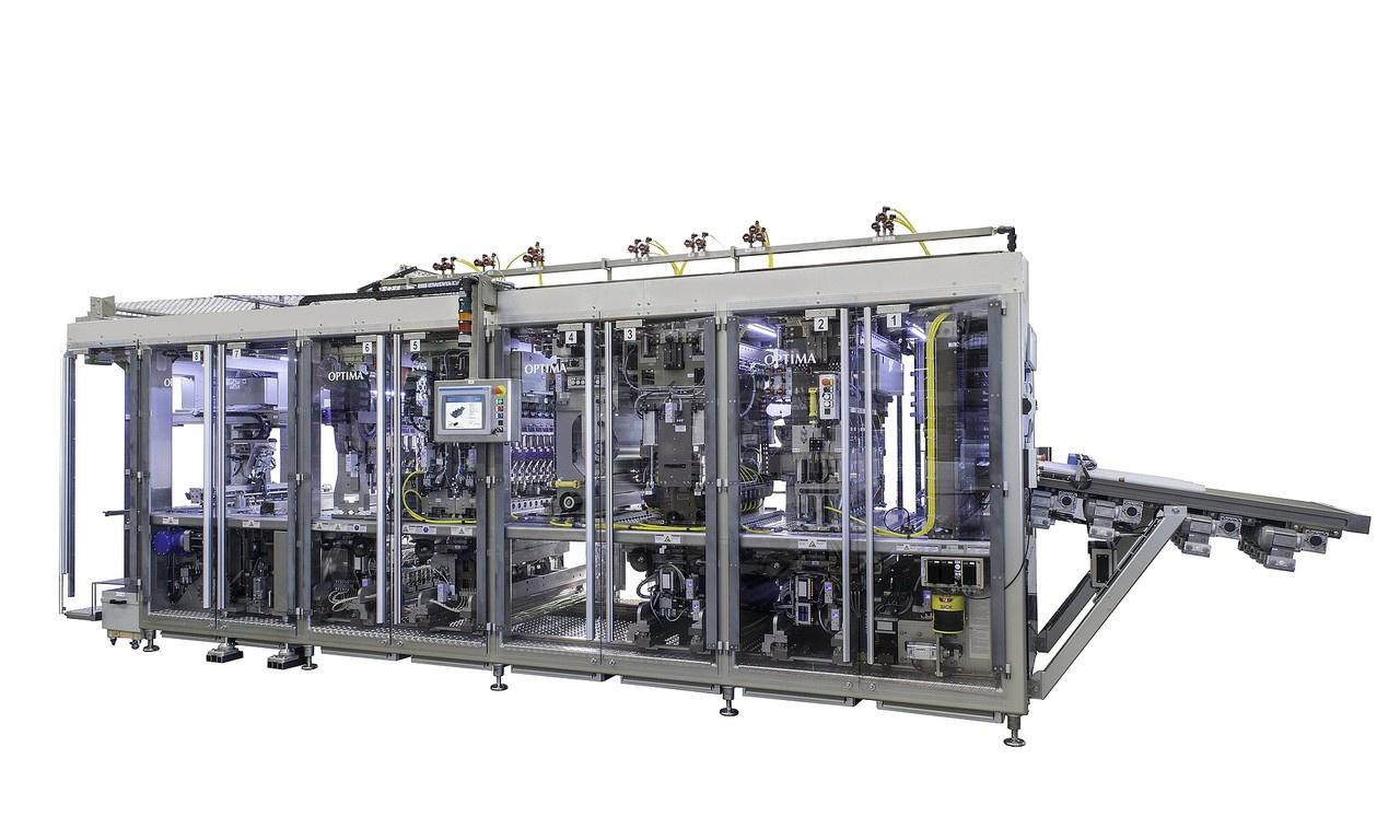 Filling and Closing Machine OPTIMA CFL-20