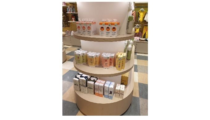 Garam Cosmetics Co., Ltd has completed opening of 'Babepapa' in Shingsegae Department store