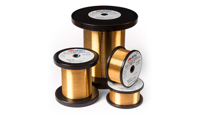 As for tungsten, also tungsten-rhenium is available as a gold coated wire to provide oxidation resis...
