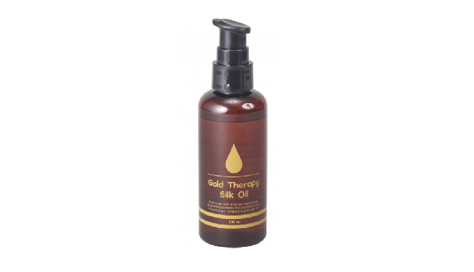 Golden Cocoon Goldtherapy Silk Oil | hair oil treatment