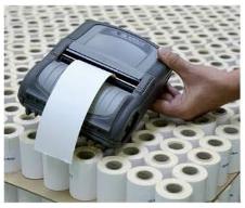 Etiquettes thermique direct pour imprimante mobile