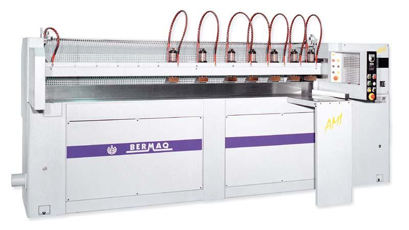 Máquina para el mecanizado transparente, pulido y abrillantado de piezas de metacrilato (PMMA) que o...