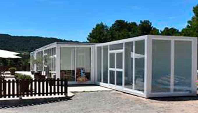 Construcciones Modulares Bar y Restaurante prefabricados