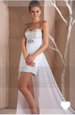 Vous cherchez pour vous une robe de baptême longue ou courte, en satin, organza, voile, tulle ou taf...