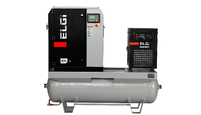 ELECTRIC LUBRICATED SCREW AIR COMPRESSOR EN SERIES SCREW COMPRESSORS 2.2-45 KW