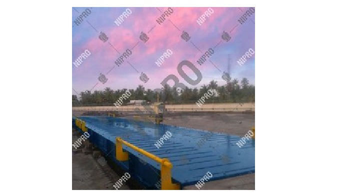 Mild Steel Pitless Weighbridge