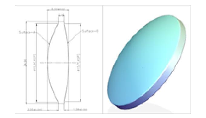 AG OPTICS Co., Ltd._Aspheric Lens (Double Concave)