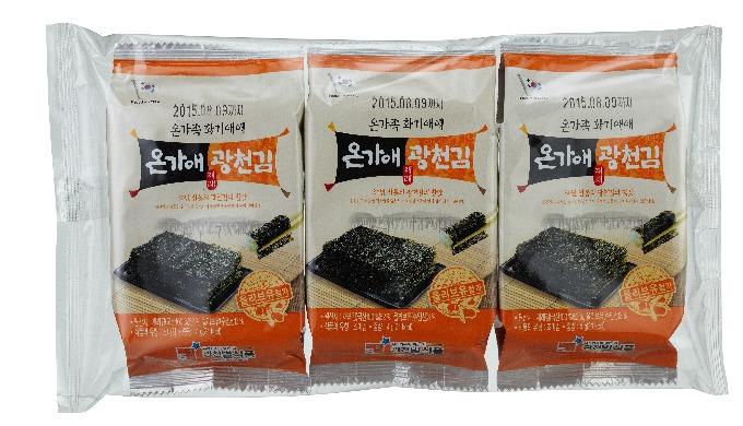 Ongaae Gwangcheon Seasoned Laver l high quality laver