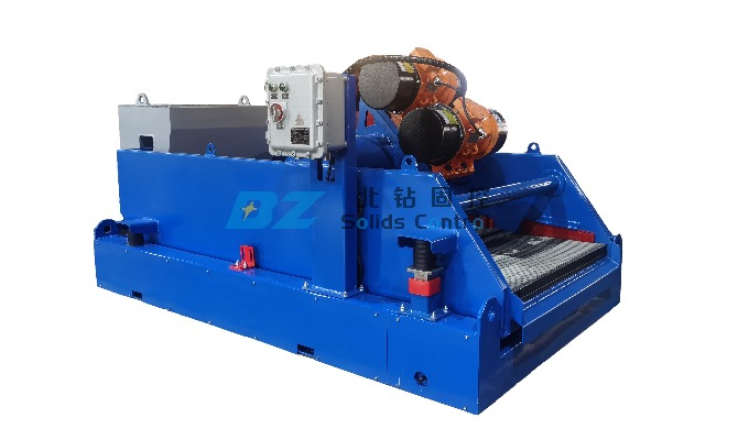 BZ High-G drying shaker is designed to meet the demand of drilling waste management and environmenta...