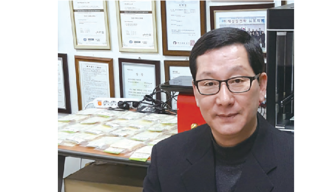 The current status of the domestic bio-plastics industry with Yoo Young-sun, CEO of Bio Materials Co., Ltd.
