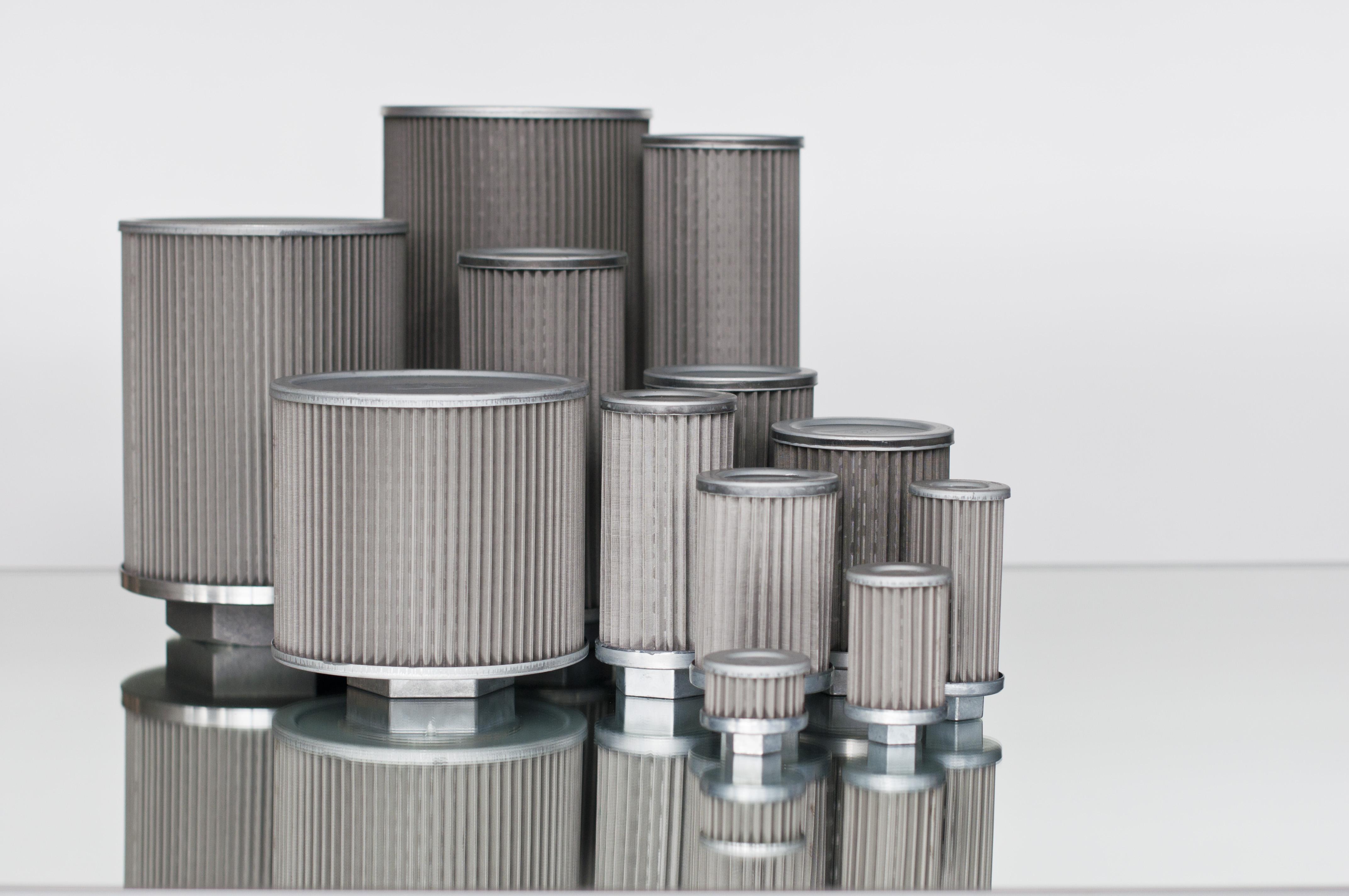 Filtros de aspiración sumergidos para hidráulica. Filtros de aceite para el funcionamiento de aspira...
